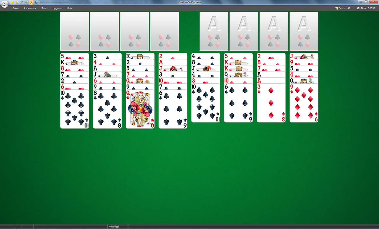 FreeCell Solitaire | Screenshot
