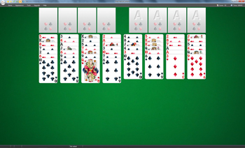 Free FreeCell Solitaire - Click to enlarge