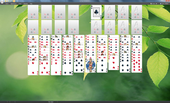 Free FreeCell Solitaire - FreeCell Solitaire Two Decks - Click to enlarge