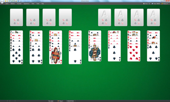FreeCell Solitaire screenshot - Click to enlarge