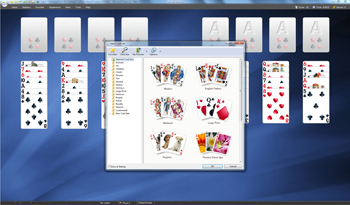SolSuite Solitaire - Select Card Sets - Click to enlarge
